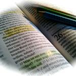 Bibellesen, aber wie? – Die Farbenmethode