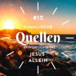 12. Jesus allein